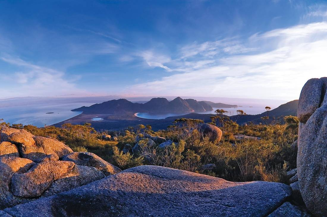 Wineglass Bay is one of Australia's most frequently photographed views and is consistently voted one of the world's best beaches.