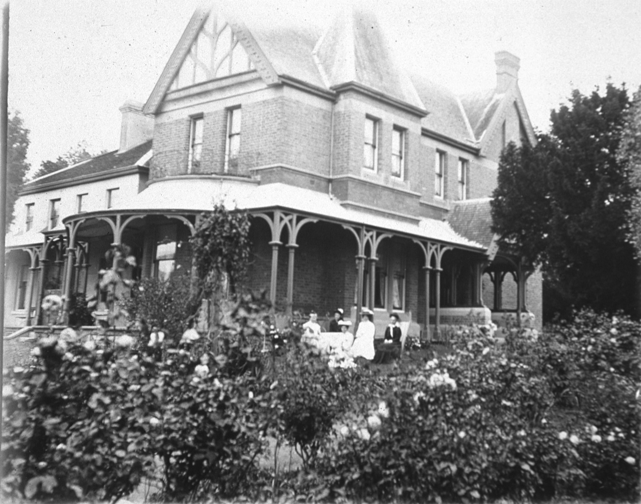 Montgomery Family Life at Bishopscourt - Late 19th Century Ways   The children had lessons in the morning with games or exercise of some kind in the afternoon. Later in life, especially in Ireland, she added another very strict rule. Everybody had to be out of the house between two and four o'clock in the afternoon, so that she could rest undisturbed by noise or interruption of any kind.