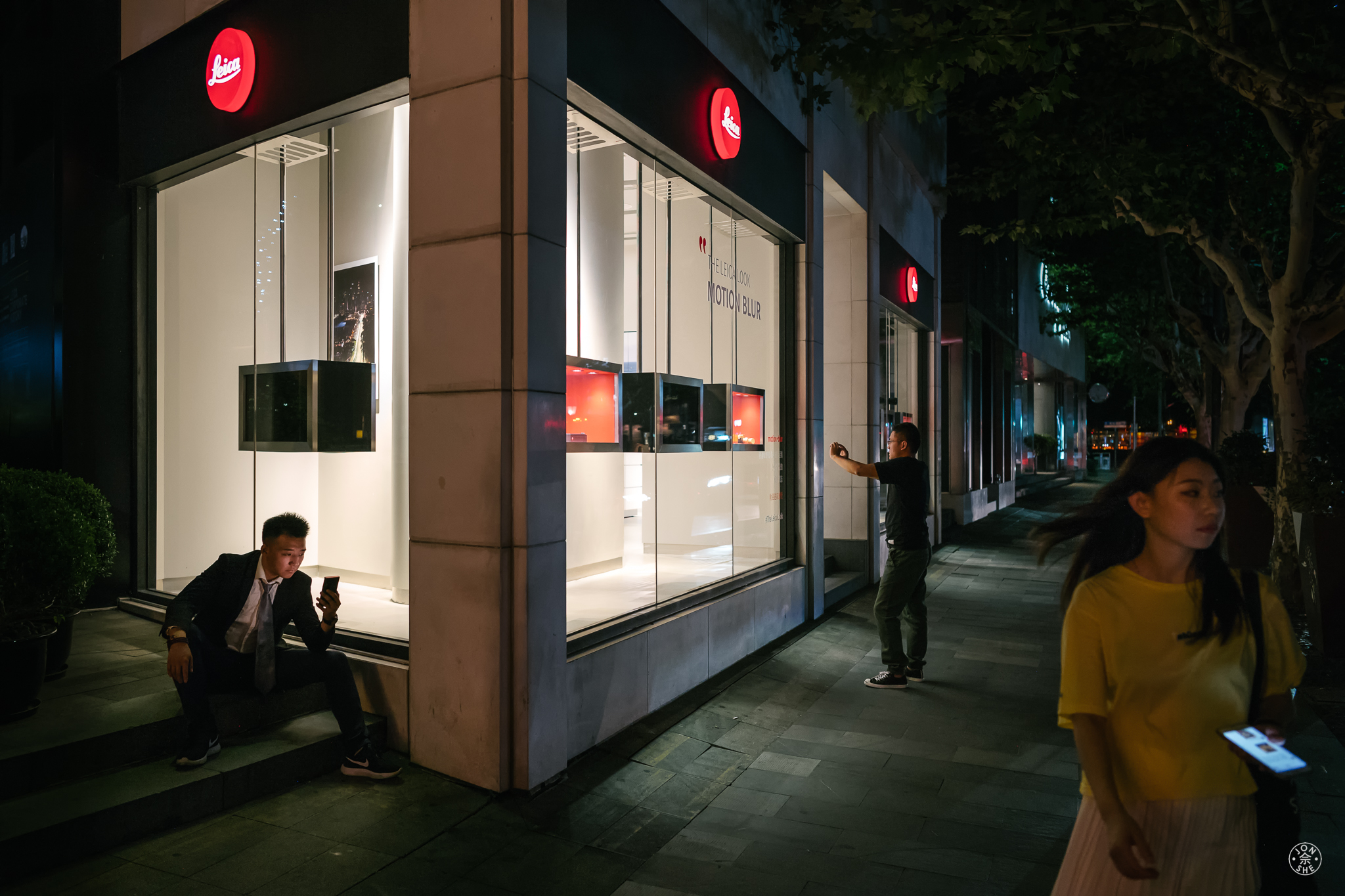 A WeChat Night at Leica