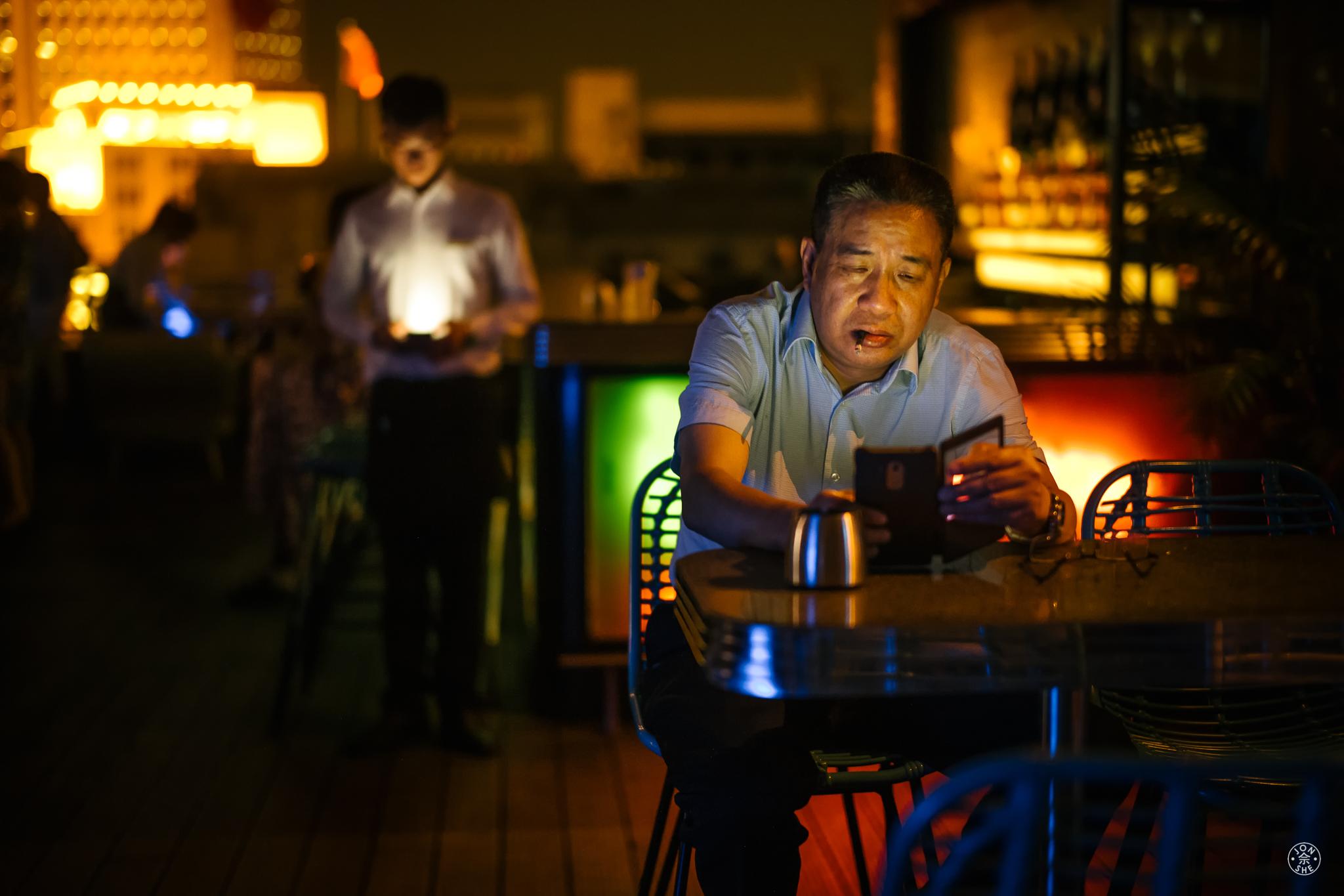 Cigarette Man, WeChat Boy