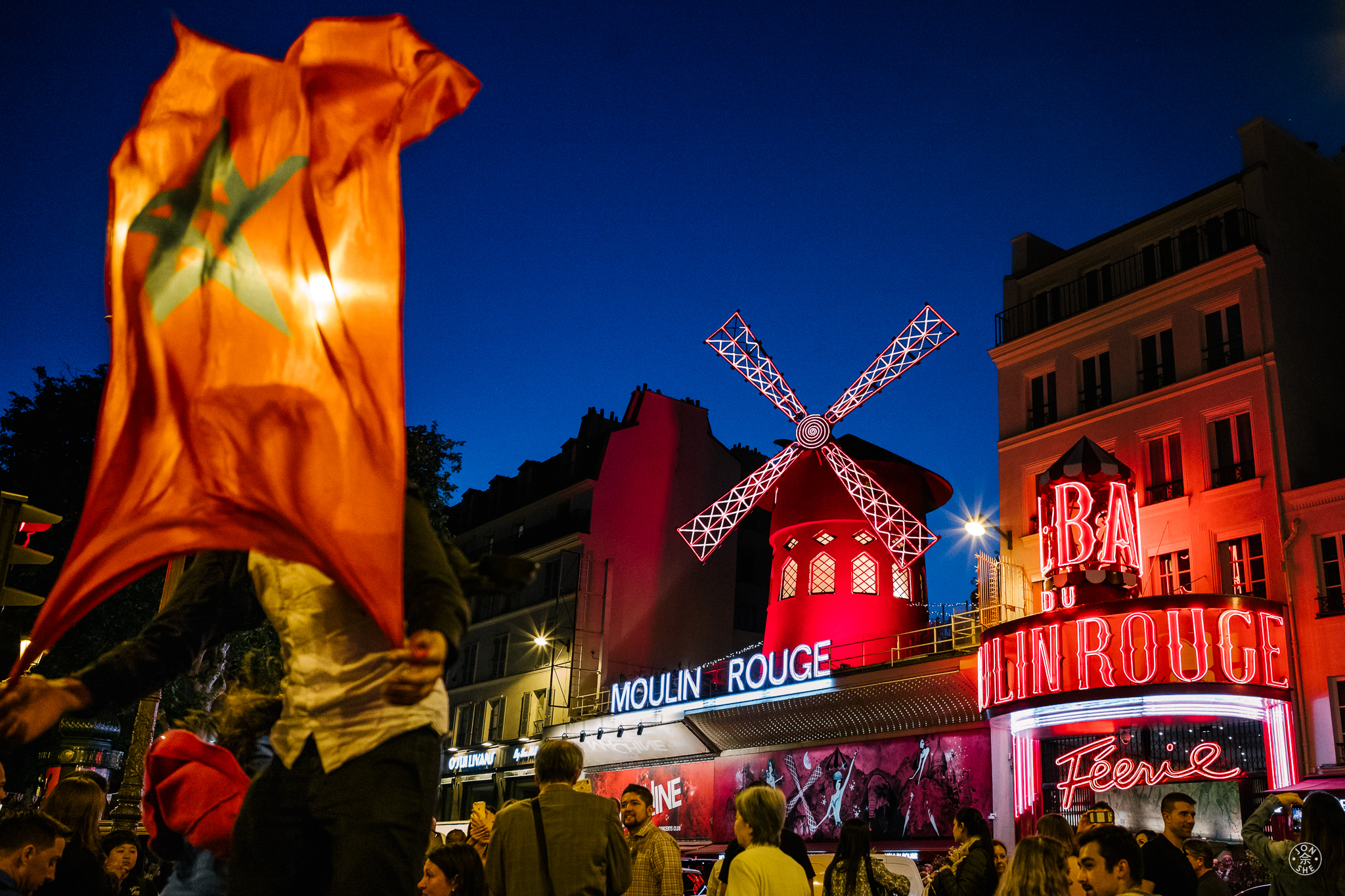 World Cup at the Moulin Rouge