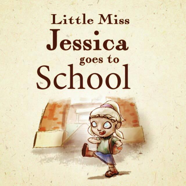 Buy your copy of Little Miss Jessica Goes to School  here