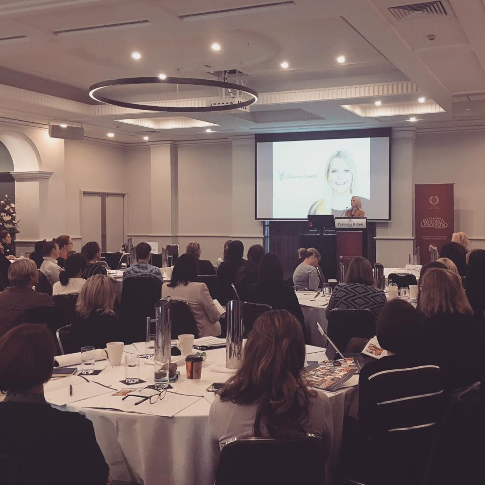 Speaking at the Women & Leadership symposium in Perth