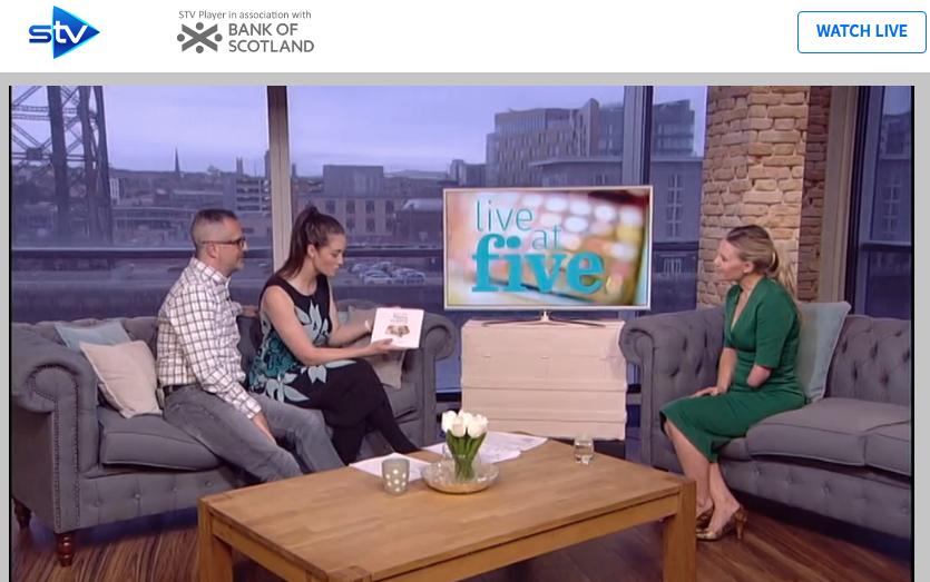 STV Live at Five - Glasgow, Scotland