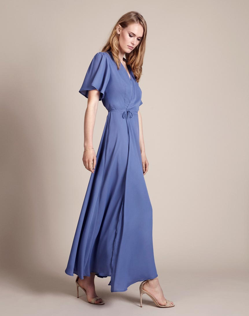 Florence Dress in Bluebell