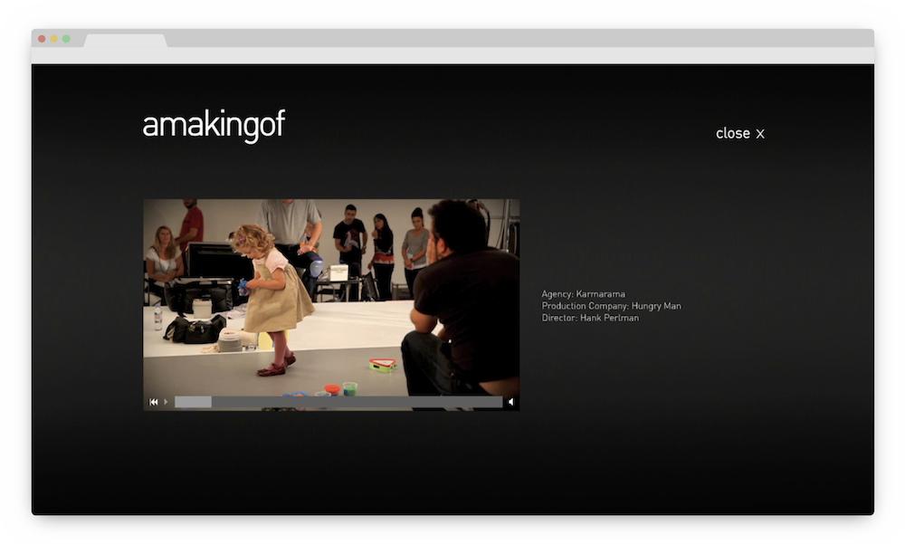 amakingof videoplayer