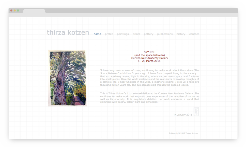 Thirza Kotzen Homepage