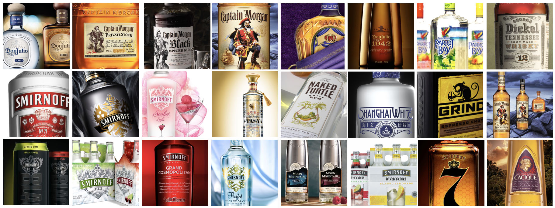 As Executive Cretive Director at Landor, Richard worked to catapult multiple Diageo brands to worldwide success, including Smirnoff,Ketel One, Don Julio tequila, and Johnnie Walker.