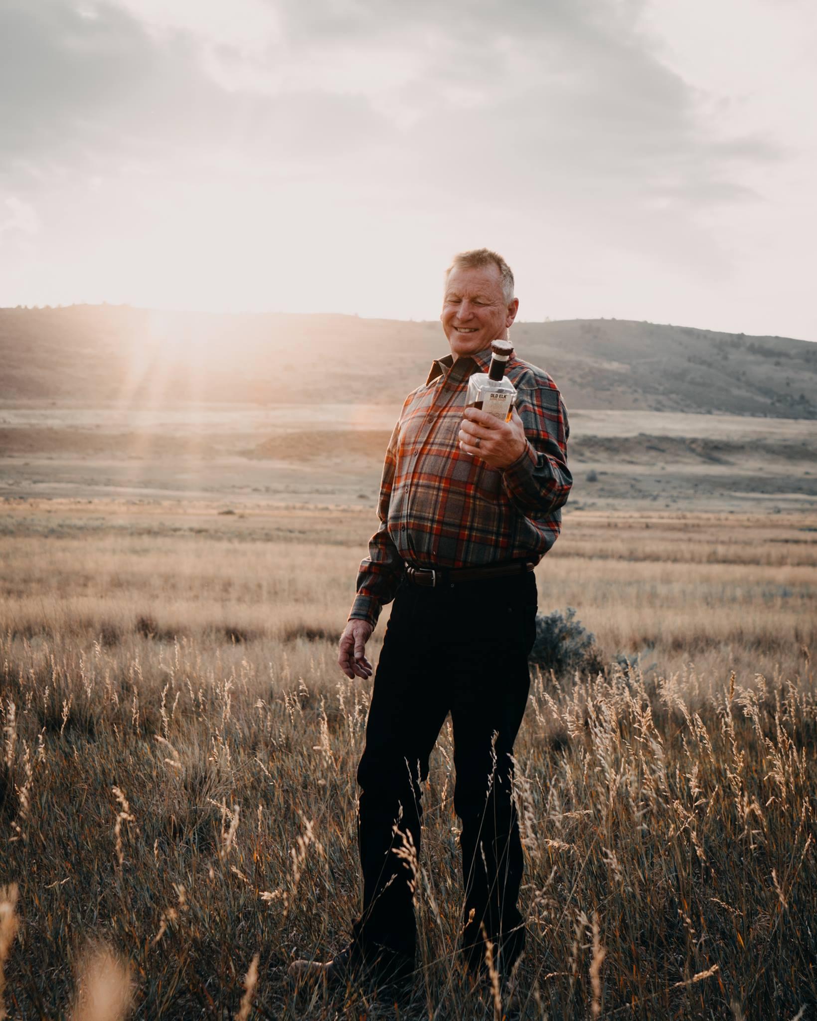 Legendary Master Distiller Greg Metze created the Old Elk recipe and process.