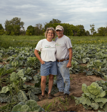 Tom and Vicki Zilke grow a wide variety of fruits, vegetables, herbs, and flowers on 30 acres in Milan, Michigan.