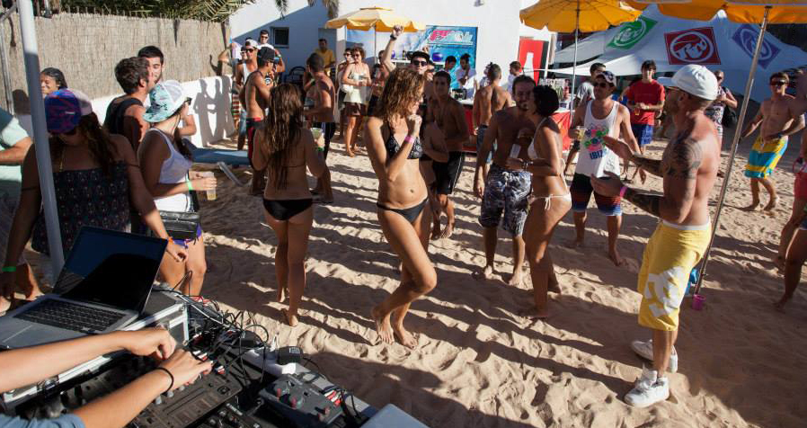 DJ en La Playa