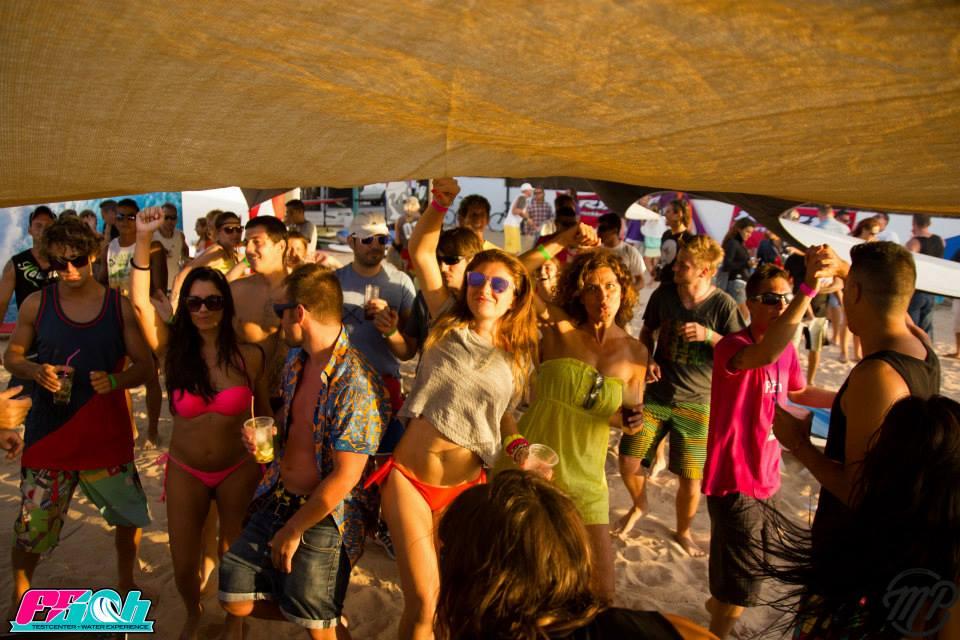 Fista en La Playa