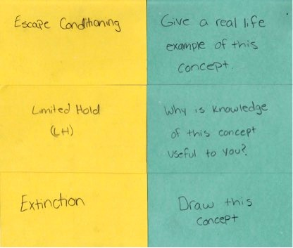 Be Your Own Teacher: How to Study with Flashcards — The