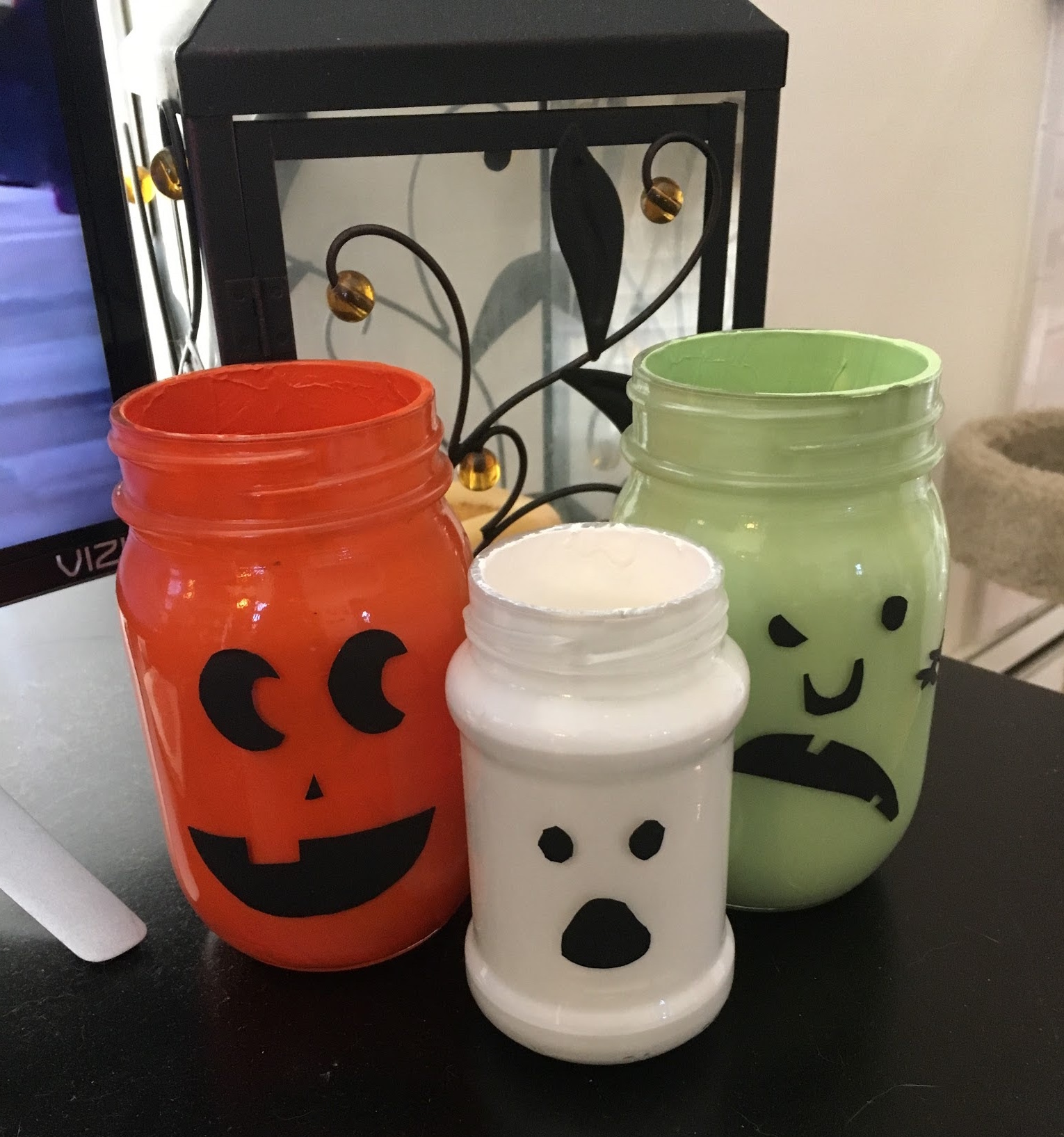 A sample of Megan's Halloween Crafting!