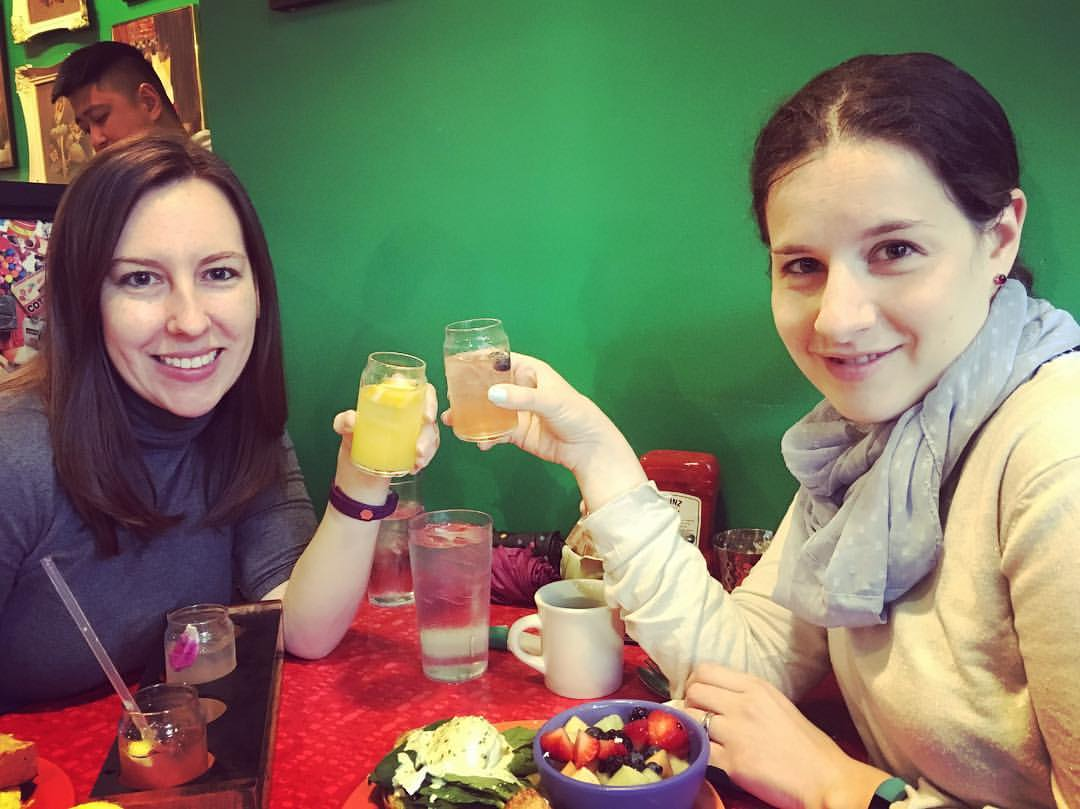 Yana and I:A cheers to the Learning Scientists project!