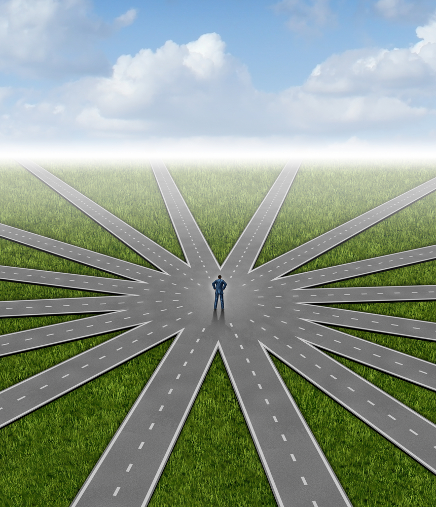 All paths lead to professional development.  ©Lightspring | Shutterstock