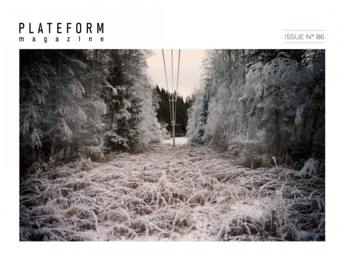 PLATEFORM Magazine ISSUE 86