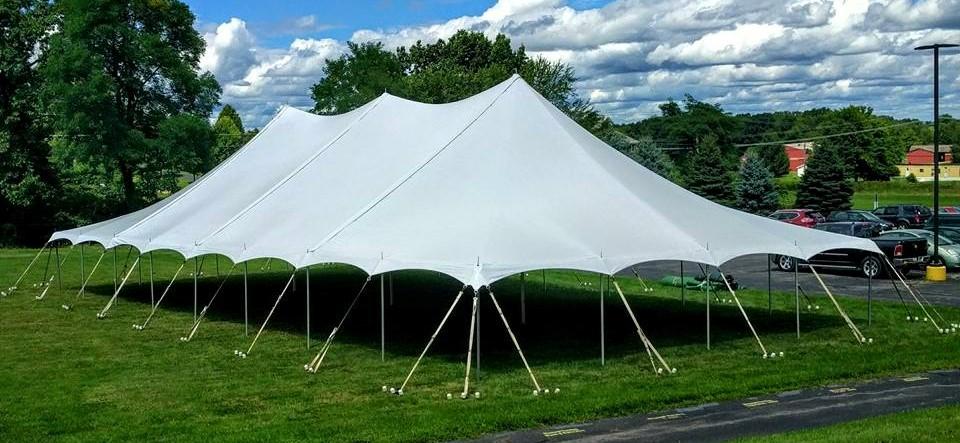 40' x 80' Large Pole Tent