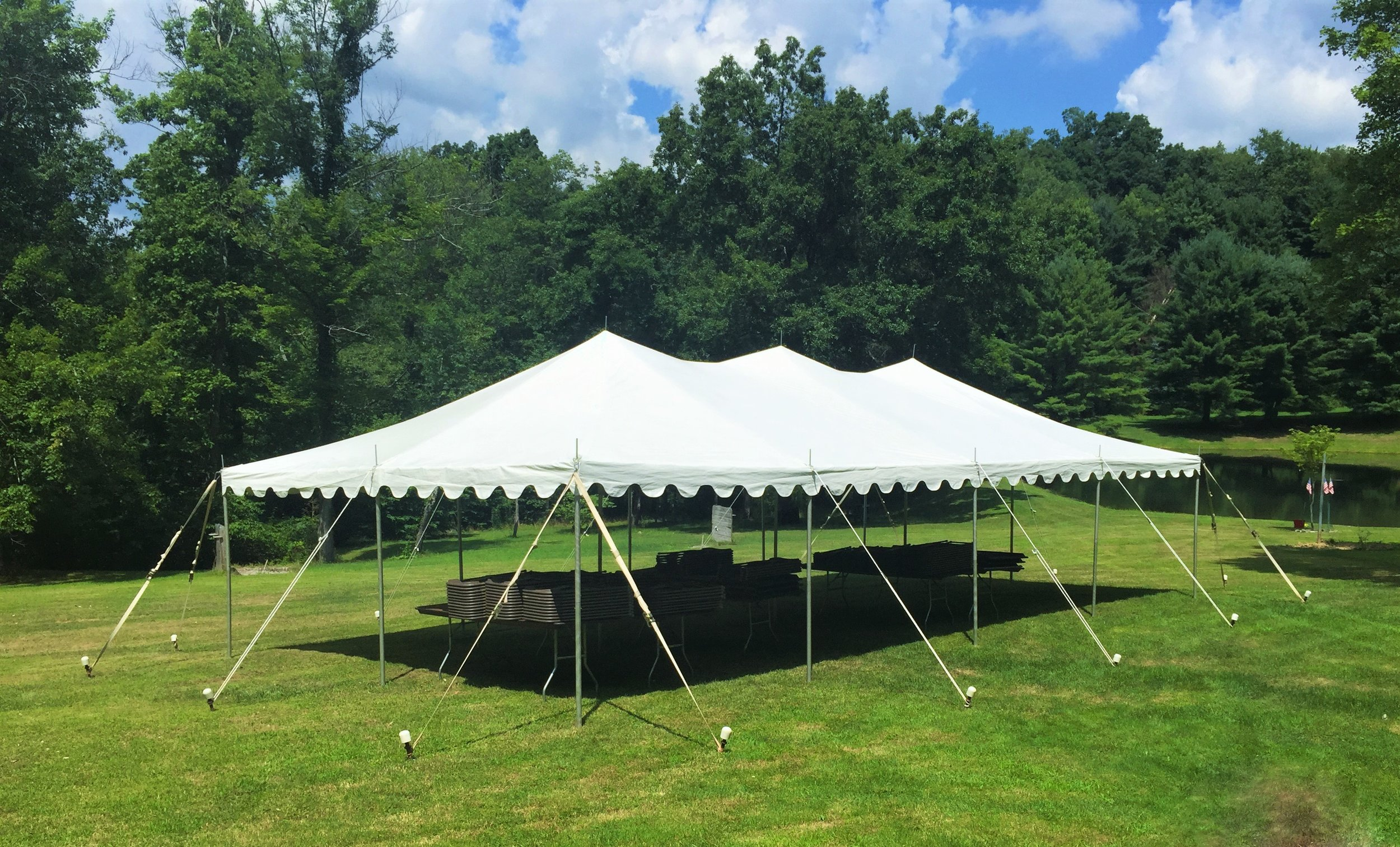 20' x 40' Canopy Tent
