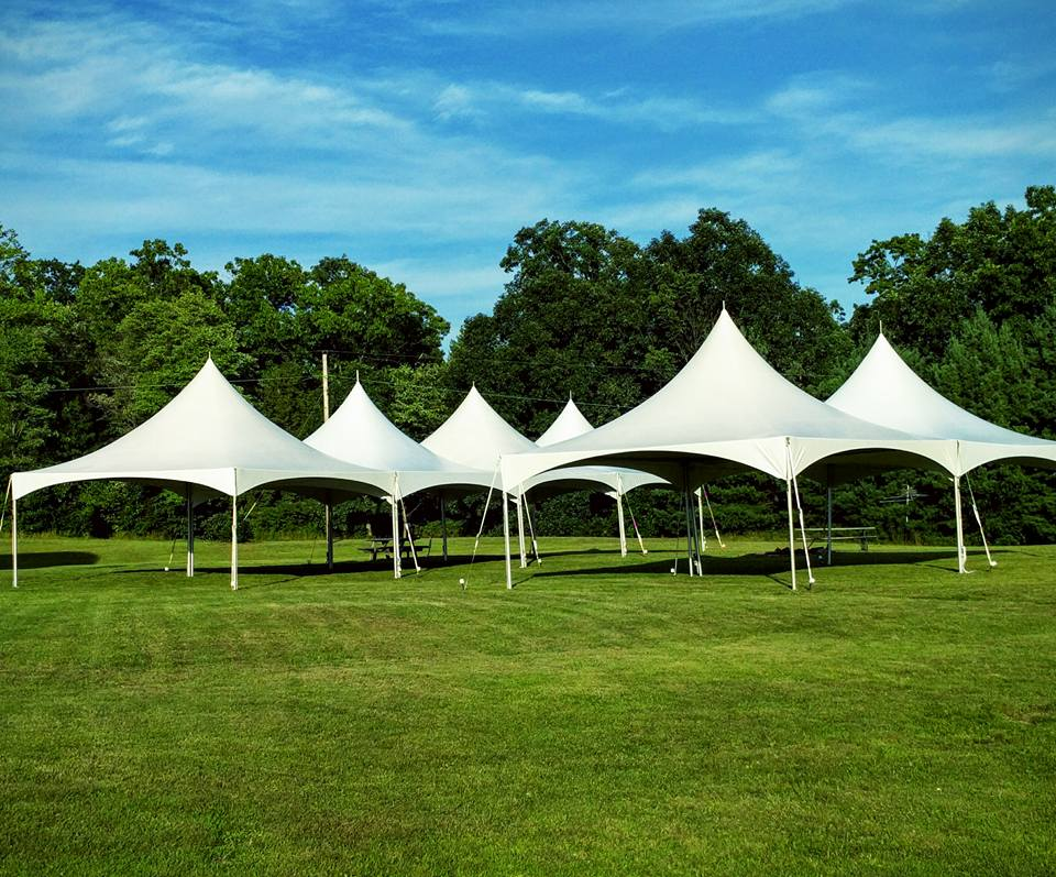 6 - 20' x 20' High Peak Frame Tents