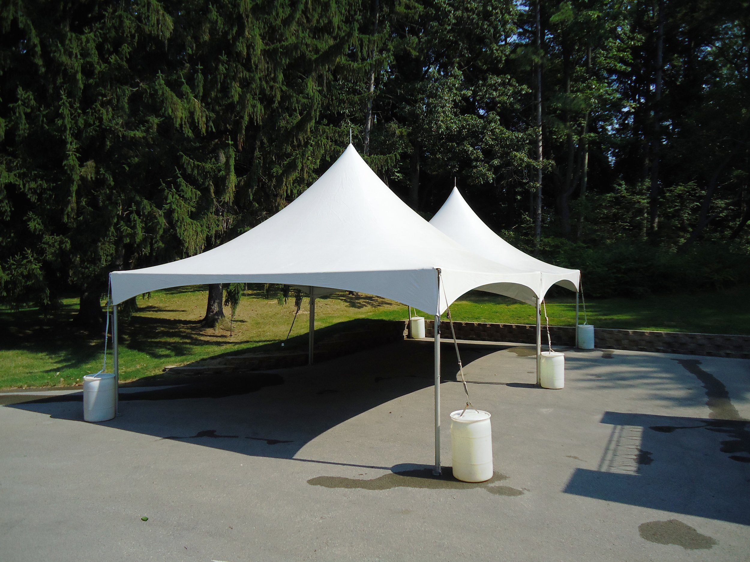20' x 40' High Peak Frame Tent