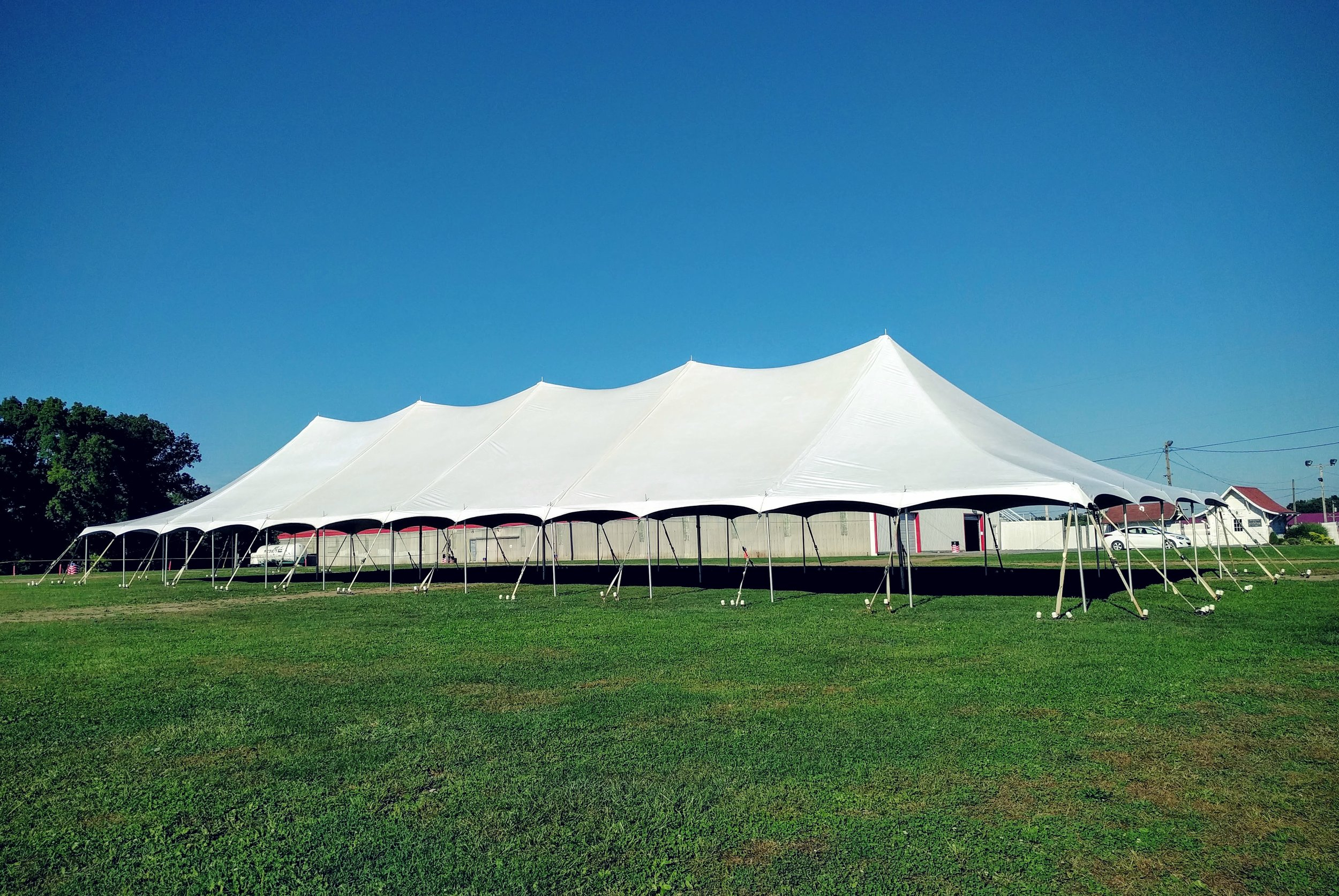 40' x 120' Large Pole Tent