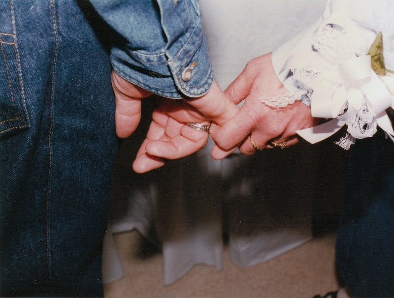 Gene and Laura, 1995 (Photo by Steve Hughey)