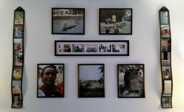 Memories of my trip to Senegal, Africa, in 2008. I took the photos, printed, framed, arranged and hung them. One of my best projects ever!