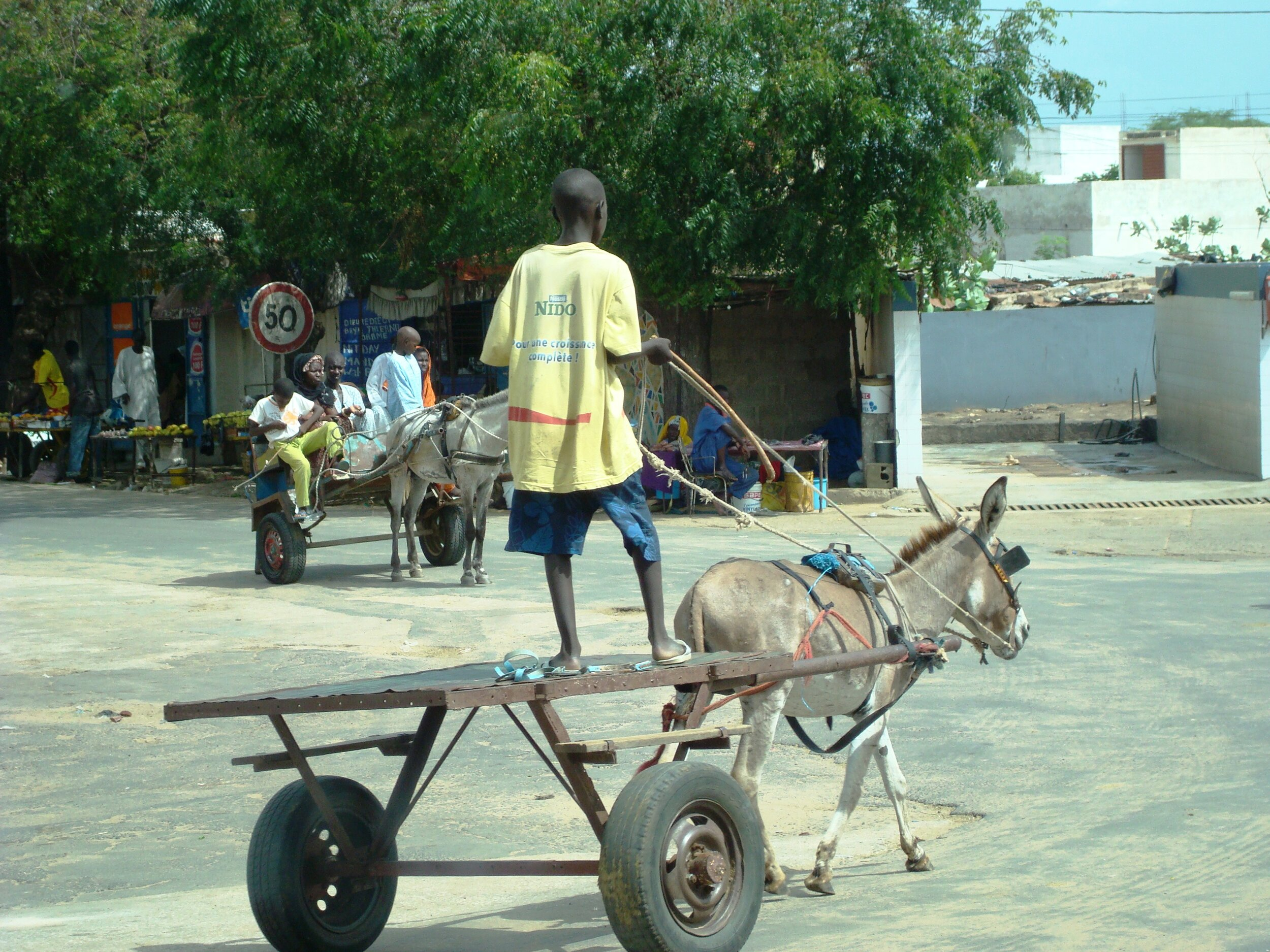 My photo: Scene in Thies, Senegal, West Africa, 2008