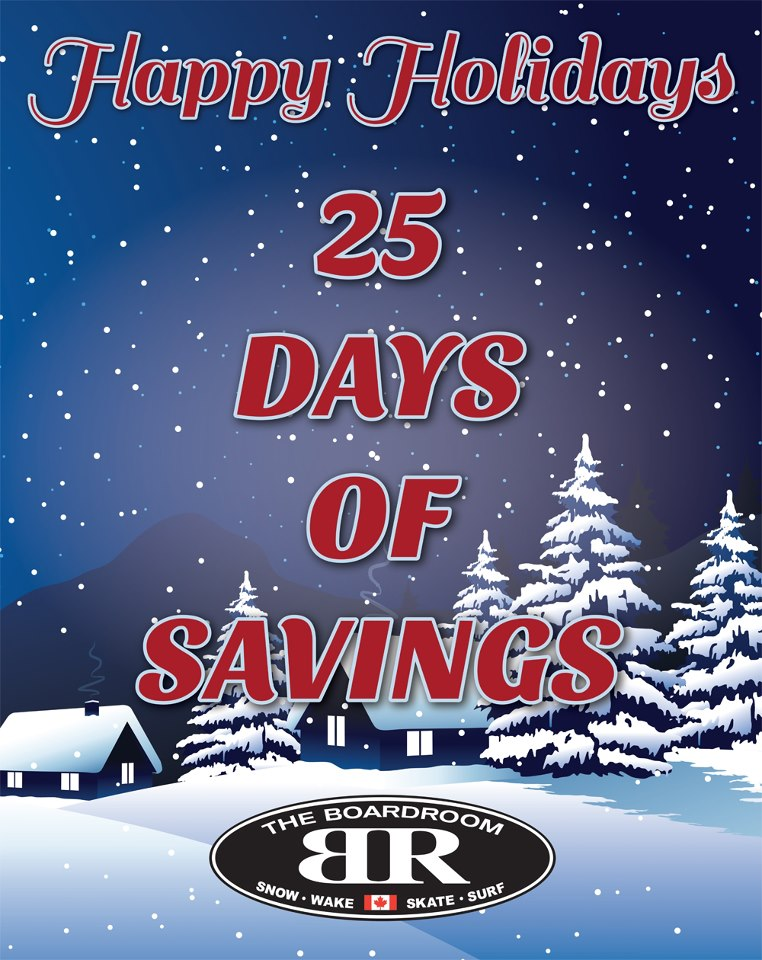 25 days of savings