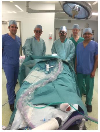 'R' Face Lift teaching day at Spire Hospital, Hull  In attendance from Left: Mr Paolo Matteucci,Mr Alastair Platt, Mr Muhammad Riaz, Mr Simon Nicholson & Mr Ash Kotwal