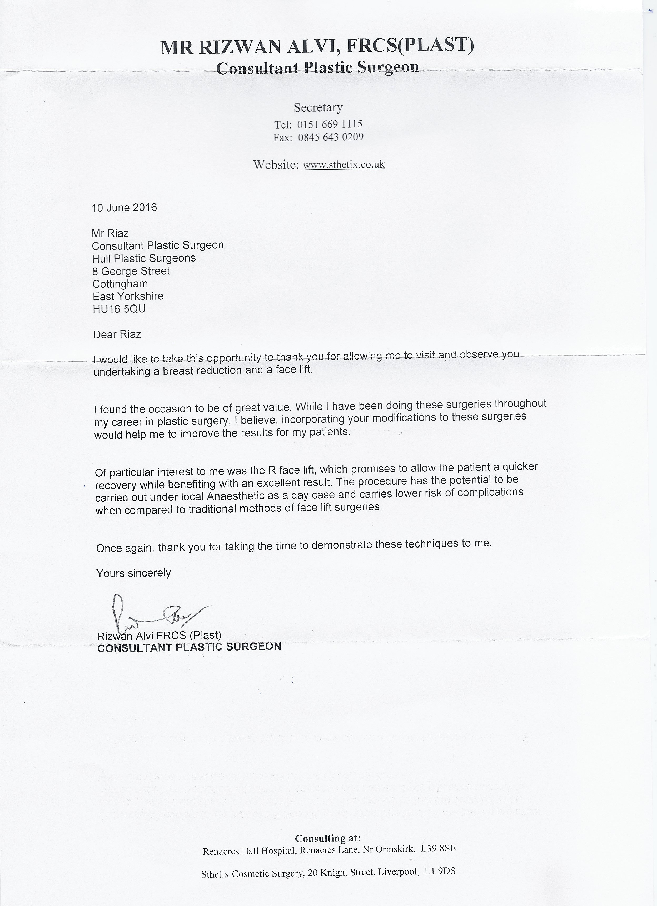 letter from Mr R alvi.JPG