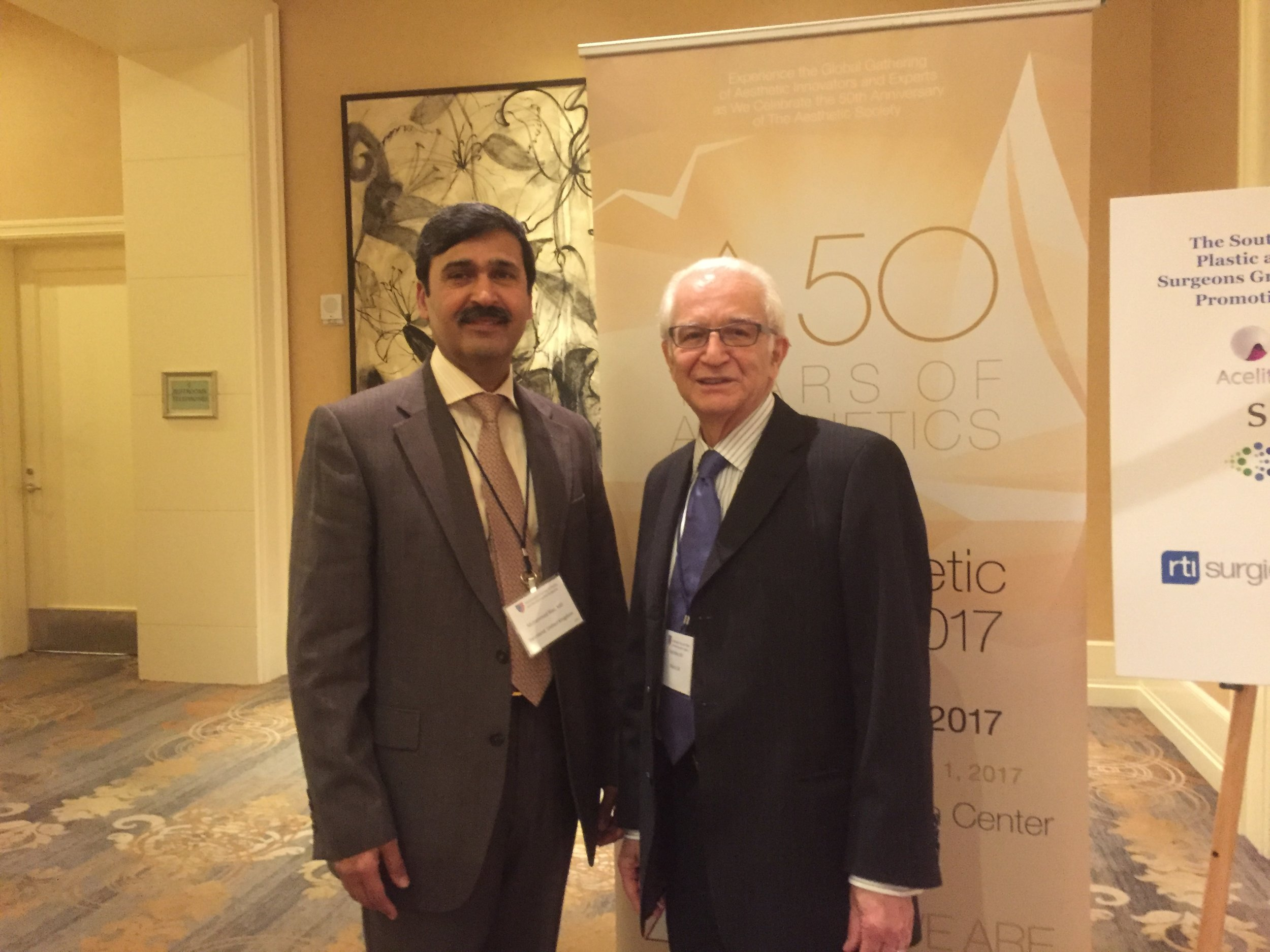With Dr Foad Nahai