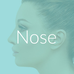 Nose rhinoplasty and reshaping cosmetic surgery hull