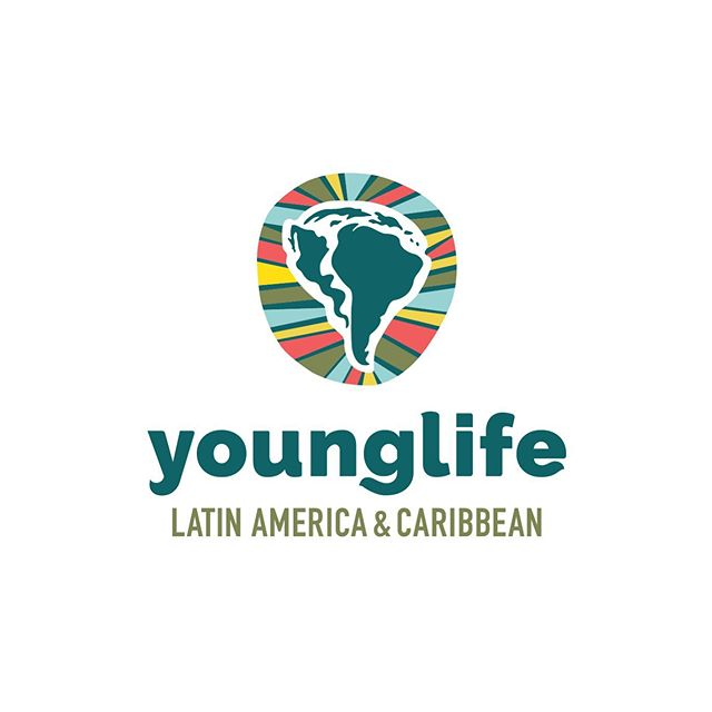 Logo designed for @younglifelac. This mark was inspired by the bright tapestries and murals so prevalent in Latin American countries. I was so inspired by the art of these different regions as I did research for this project. Colors mashed together, funky shapes and scaling, unexpected but beautiful. Thanks to my girl @hannahbible who chose the killer colors for this brand and created patterns and textures to round out the look. It has been a gift to learn about this ministry as I create for them!