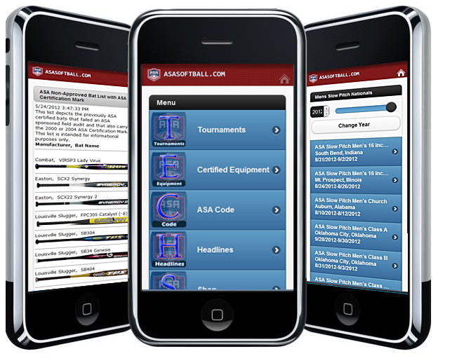 USA Softball Mobile Apps