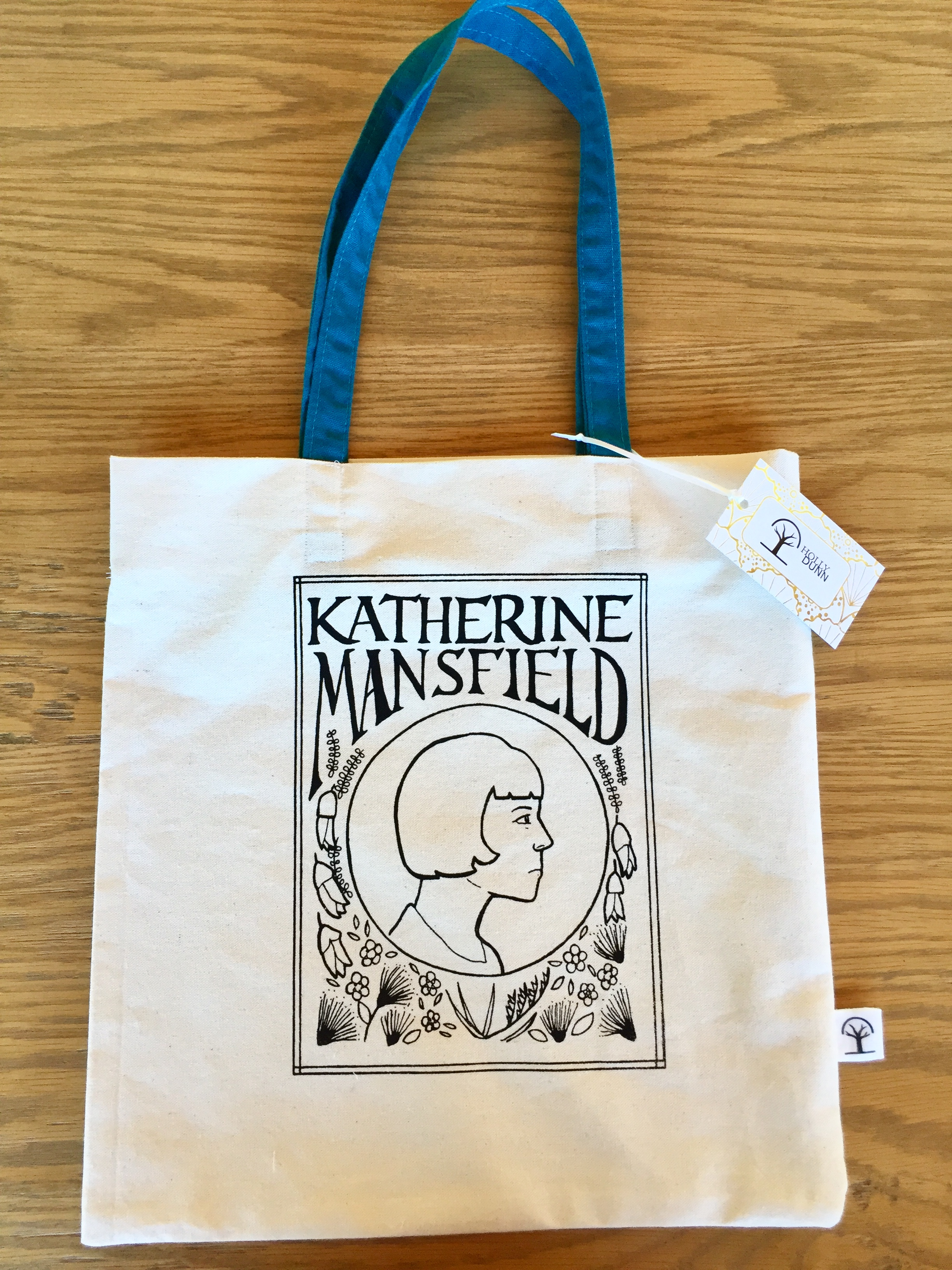 Katherine Mansfield Tote Bag