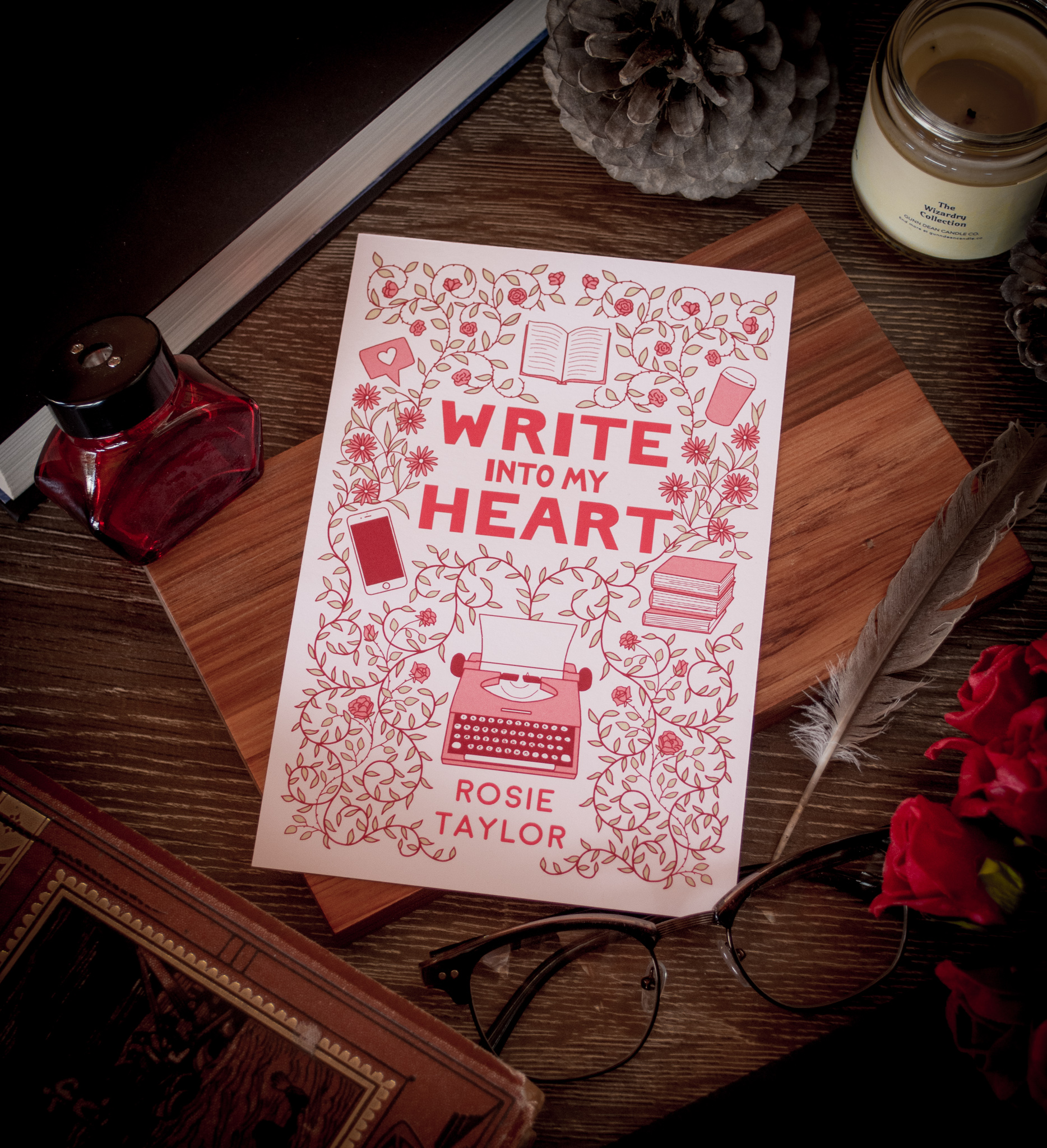 Write Into My Heart - Rosie Taylor, 2018Rosie got in touch with me to enquire about a cover for her romance novel, Write into My Heart, a book set in the publishing world in London. She had been traditionally published in the past under a different name, and this was her first foray into producing ebooks independently, but she brought with her a wealth of knowledge from her time in publishing… [READ MORE]