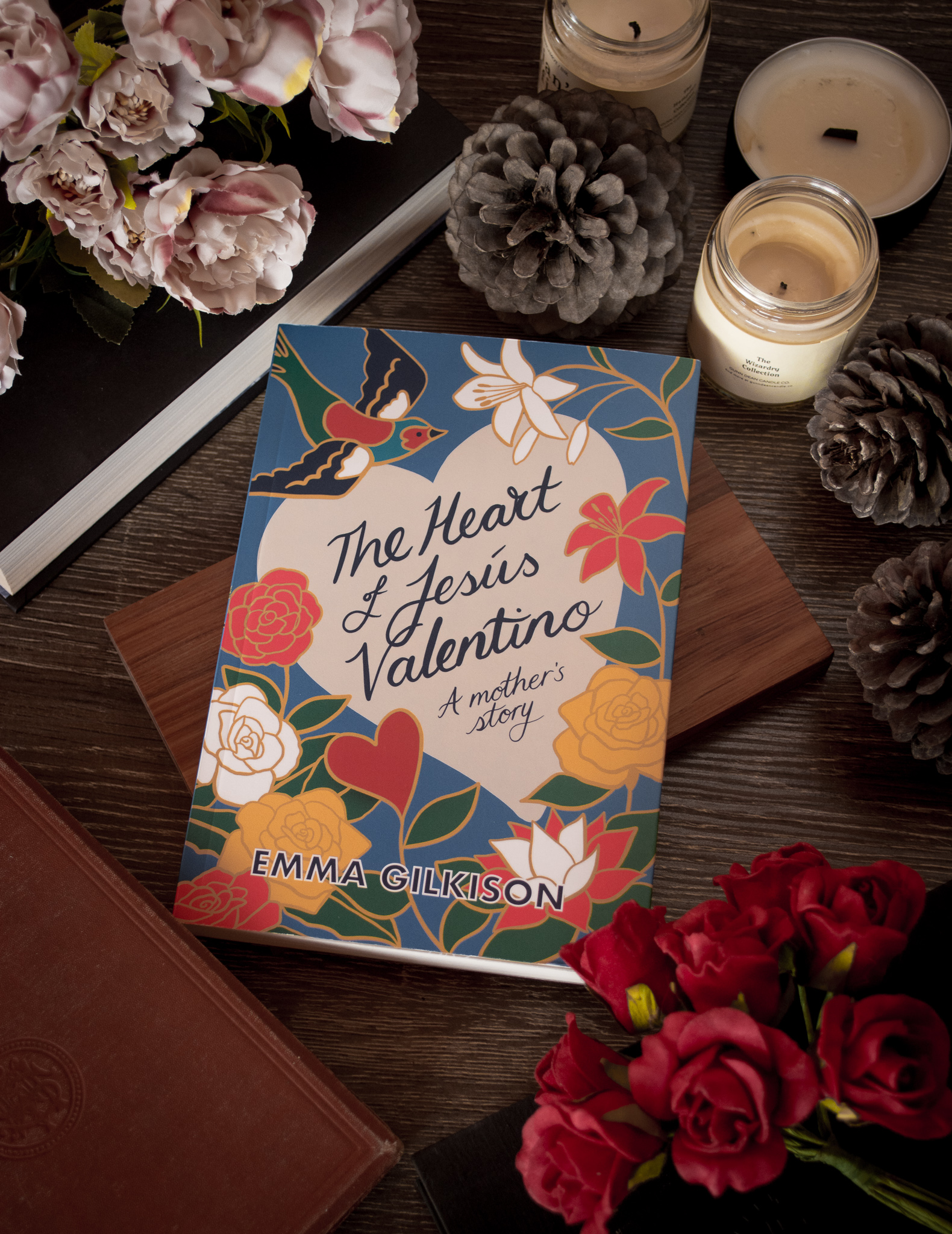 The Heart of Jesús Valentino - Awa Press, 2018Mary got in touch with me to work on a beautiful and unique memoir by New Zealand author Emma Gilkison. When I first heard the brief I thought, oh my goodness, where do I even start with this subject matter? It was a wonderful challenge… [READ MORE]