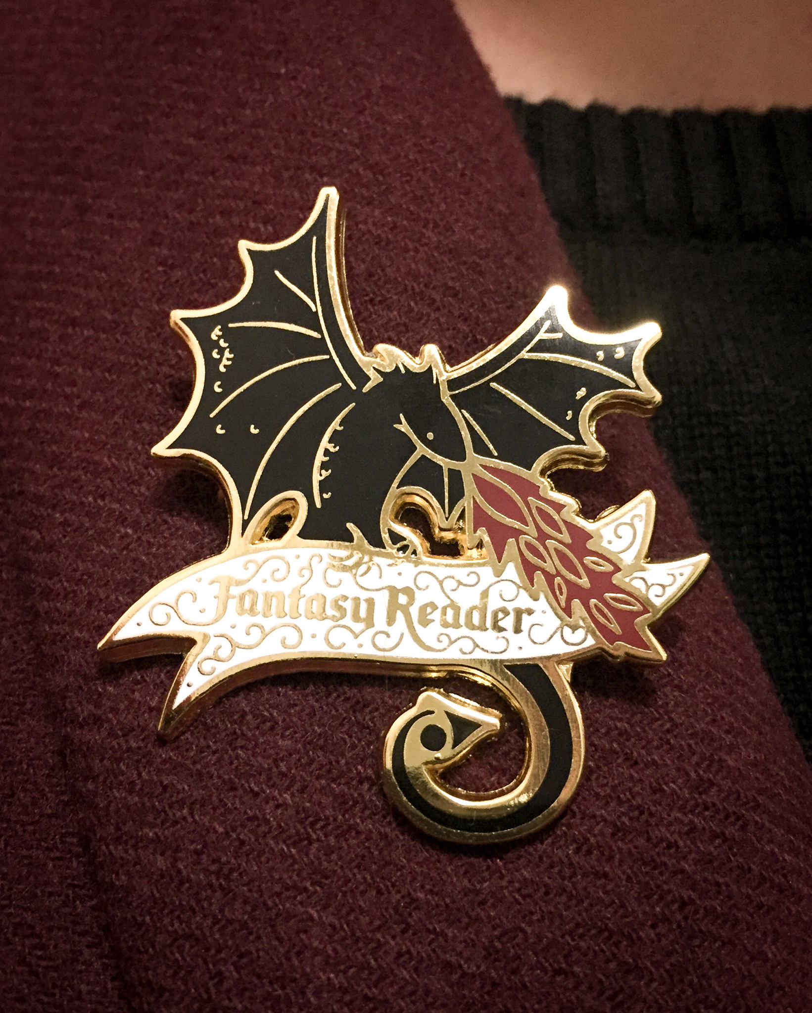Dragon Fantasy Pin