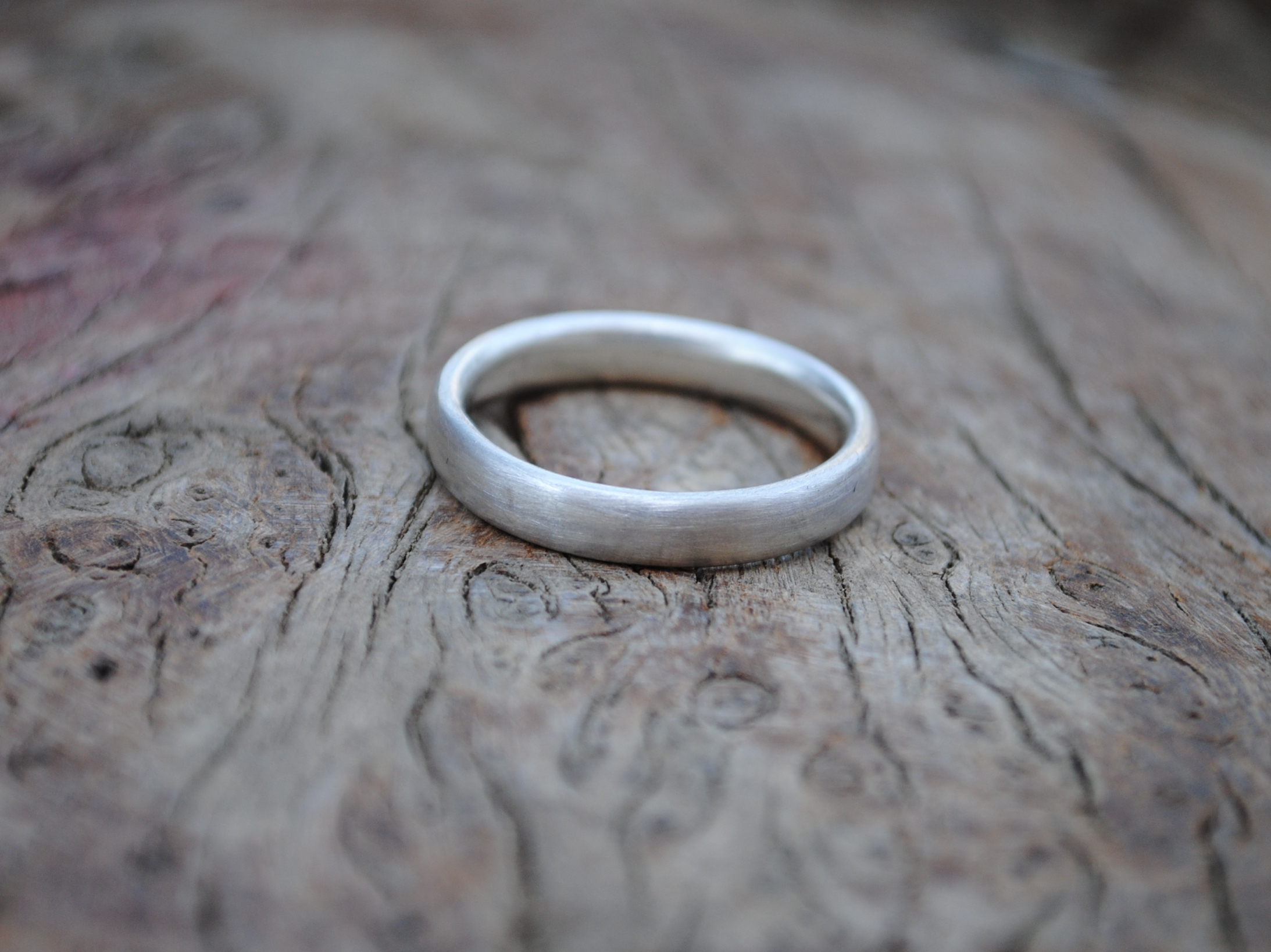 Oval Wire Silver Ring £35.