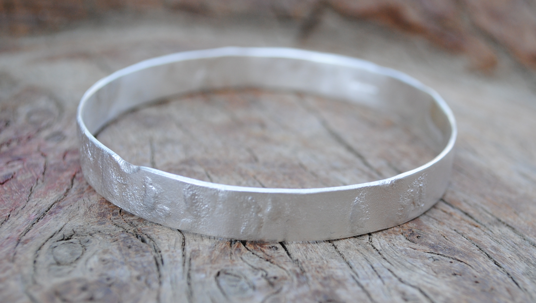 Reticulated Sheet Bangle £140.