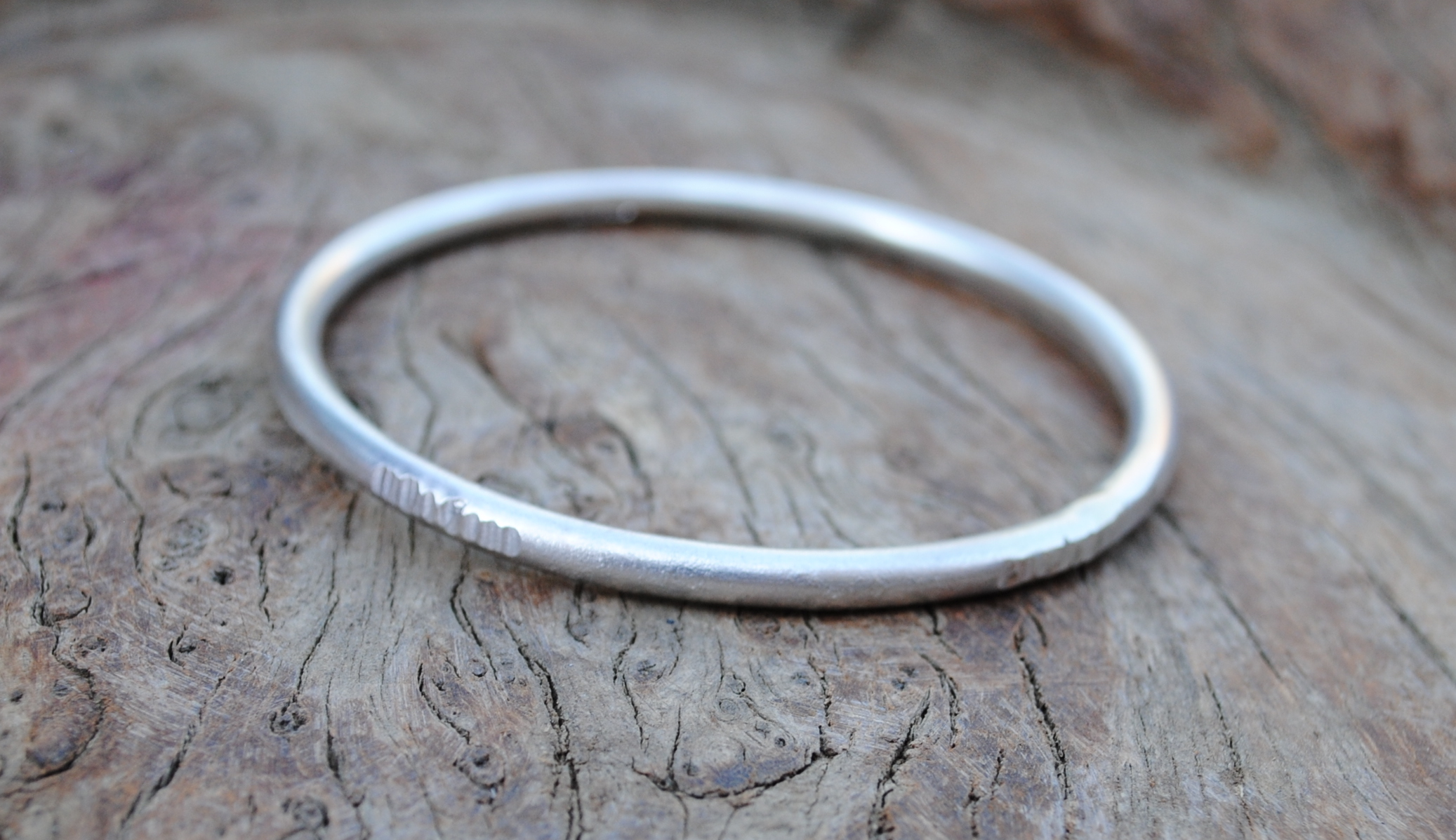 Very Chunky Textured Bangle £110.