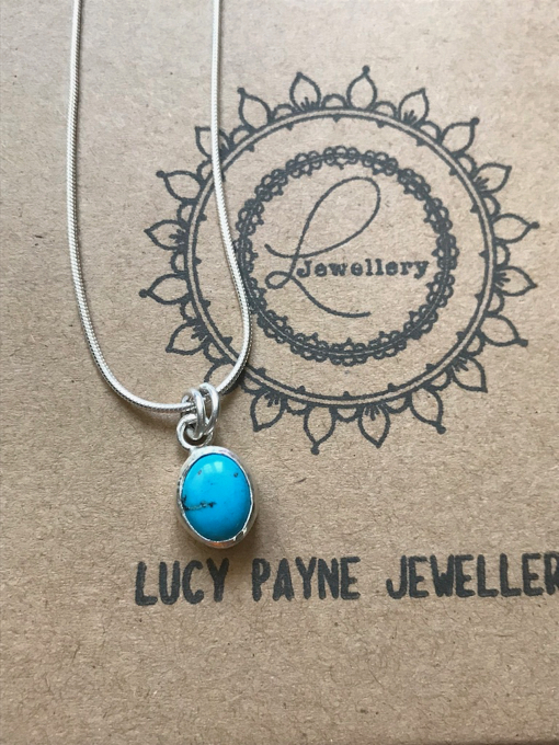 """Beautiful necklace made by lucy for a birthday present! she loved it, thank you so much lucy! will definitely buy your lovely jewellery again! xx"" - - Petra Maudsley."