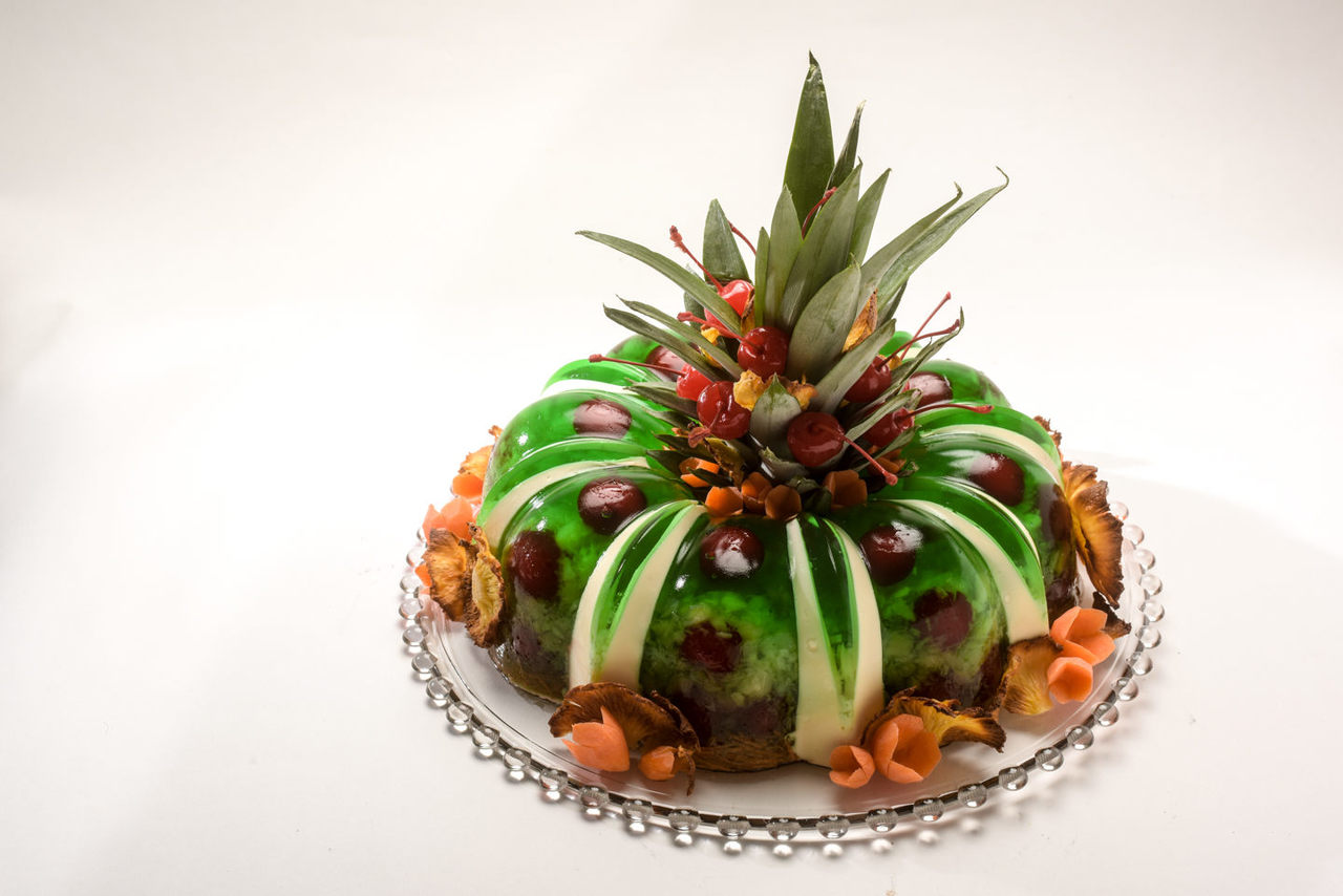 """""""Nothing Says I Love You Like Green Jell-O"""" by chef Justin K. Dillree.   PHOTO COURTESY KATE MEDLEY"""