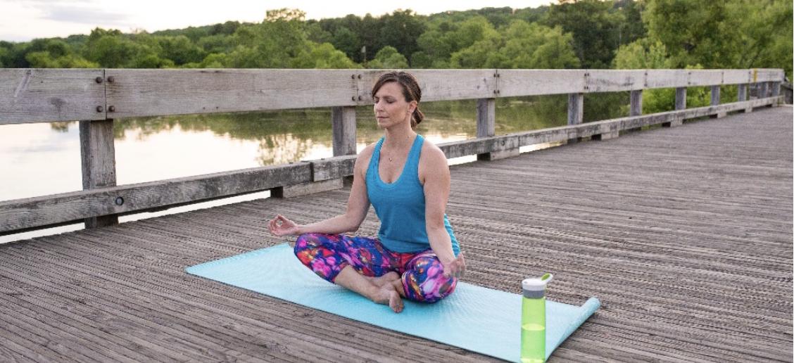 Yoga Cross Legged Pose