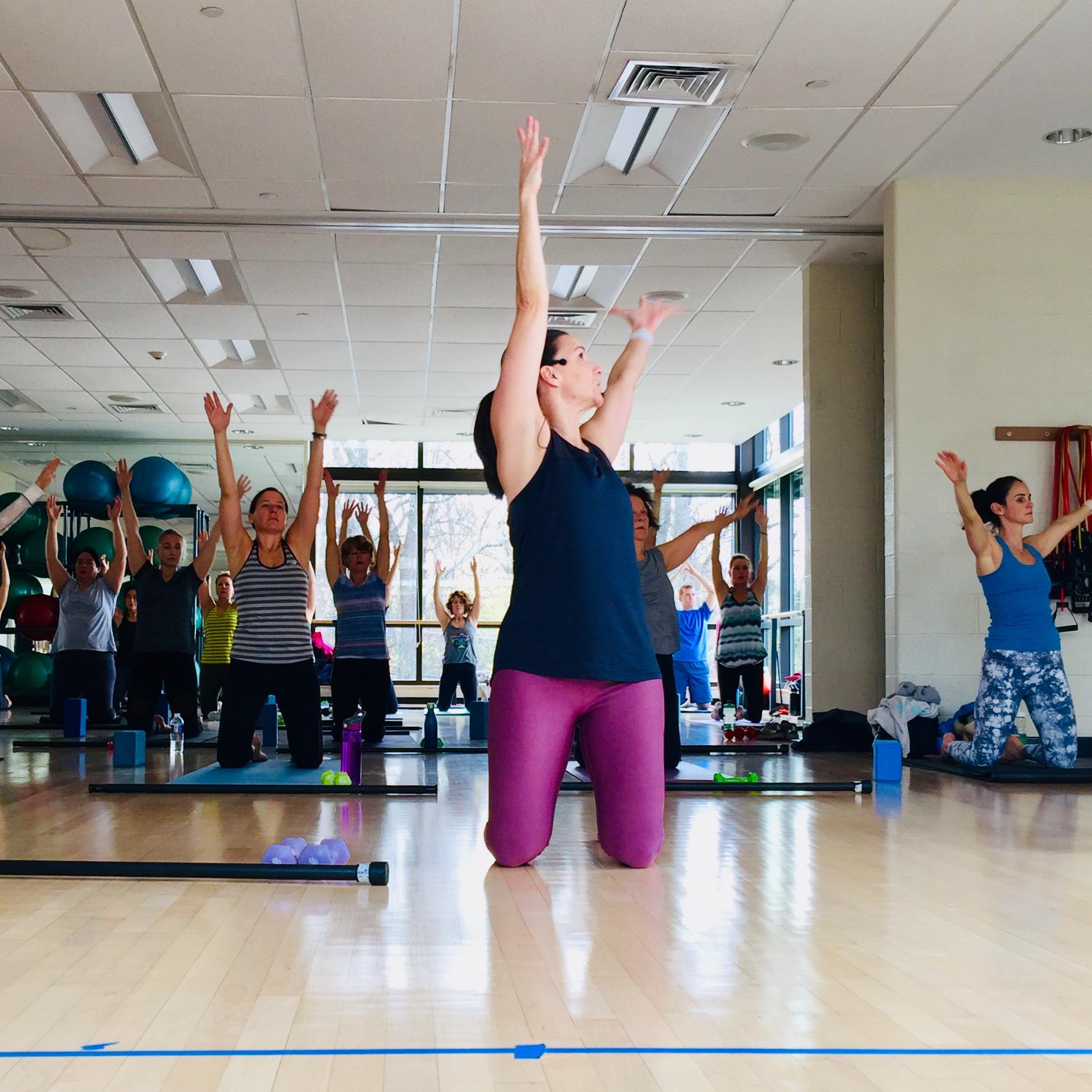 Doylestown YMCA Barre Fusion Class