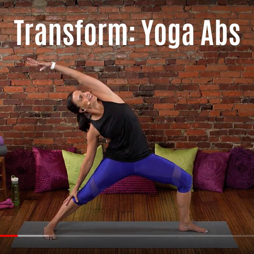 Yoga Abs Workout Video JBird Fitness