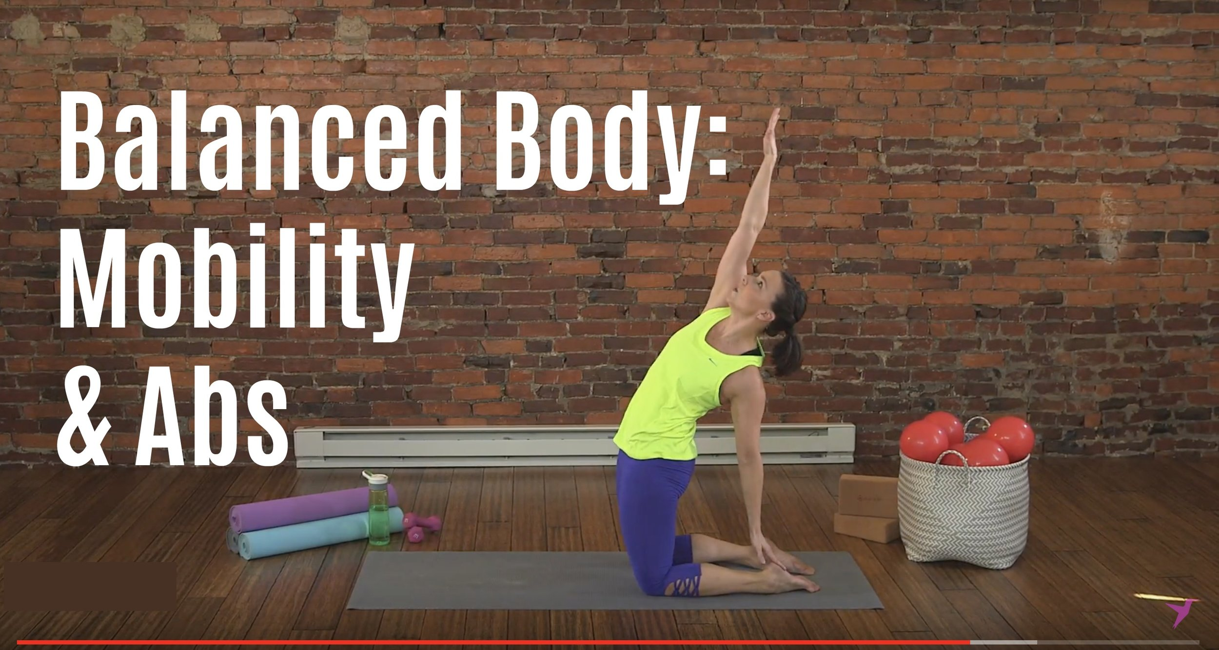 Mobility and Abs Workout Video JBird Fitness