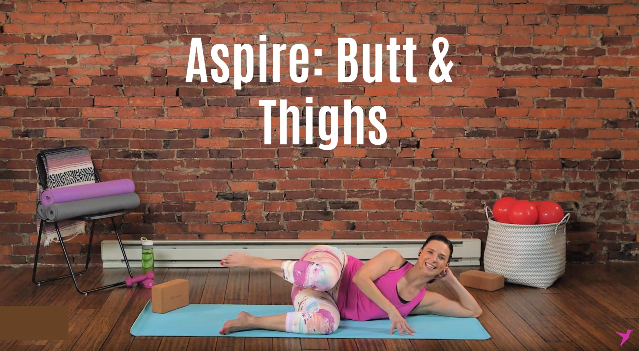 Butt & Thighs Workout Video
